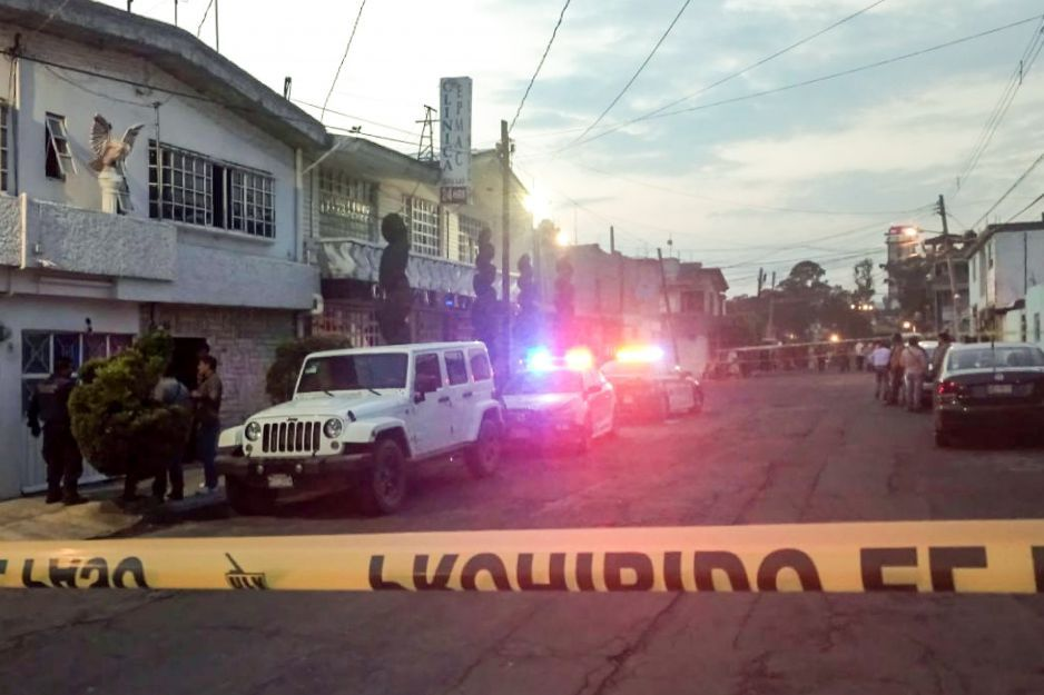 Seis detenidos dejan una persecución y balacera en Lomas de 5 de Mayo