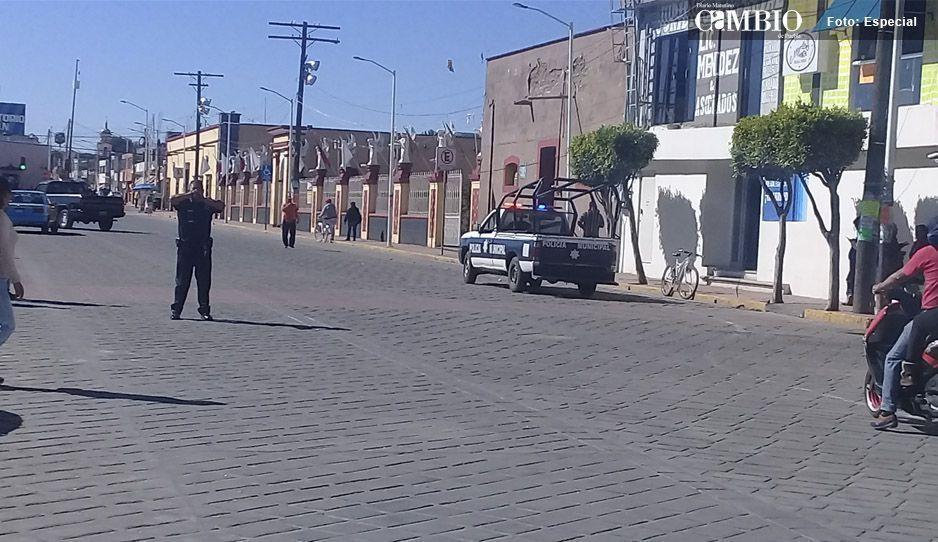 A falta de pago, policías de Huejotzingo amenazan con paro laboral