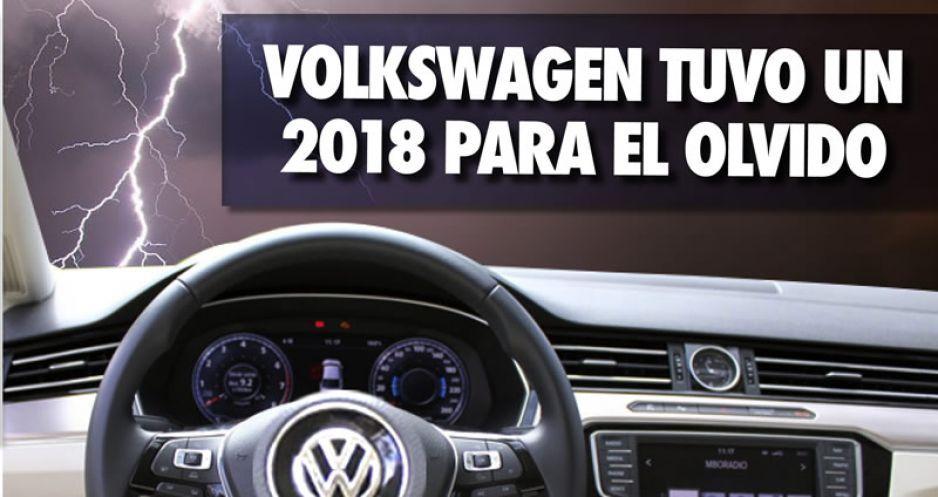 Volkswagen tuvo un 2018 para el olvido