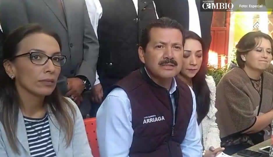 Arriaga se declara ganador, dice que sumará propuestas de sus adversarios