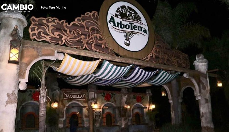 FOTOS: Africam presenta Primera Edición de Arboterra Nocturna