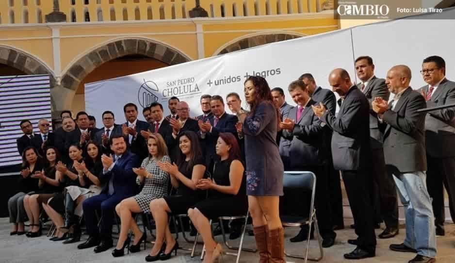 Ex candidatos serán directores de áreas en San Pedro Cholula