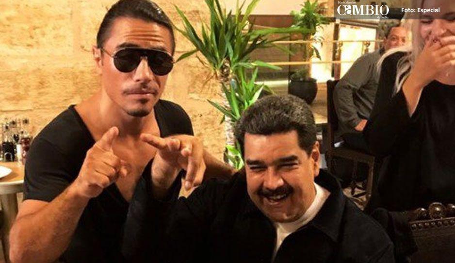 Nicolás Maduro protagoniza polémica por disfrutar lujoso banquete
