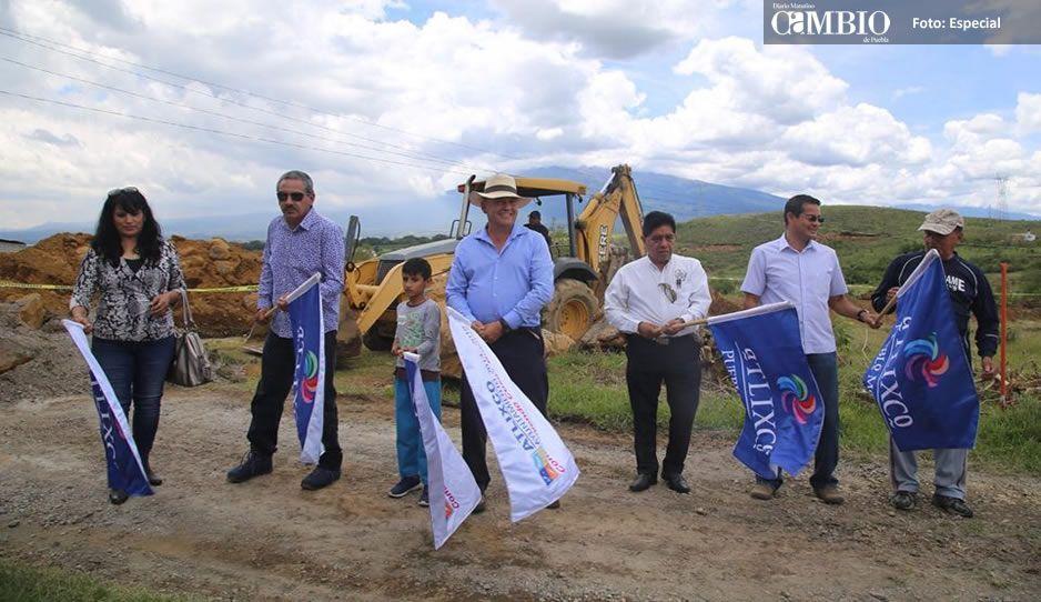 Galeazzi Berra inicia e inaugura obras en Atlixco por más de 23 MDP