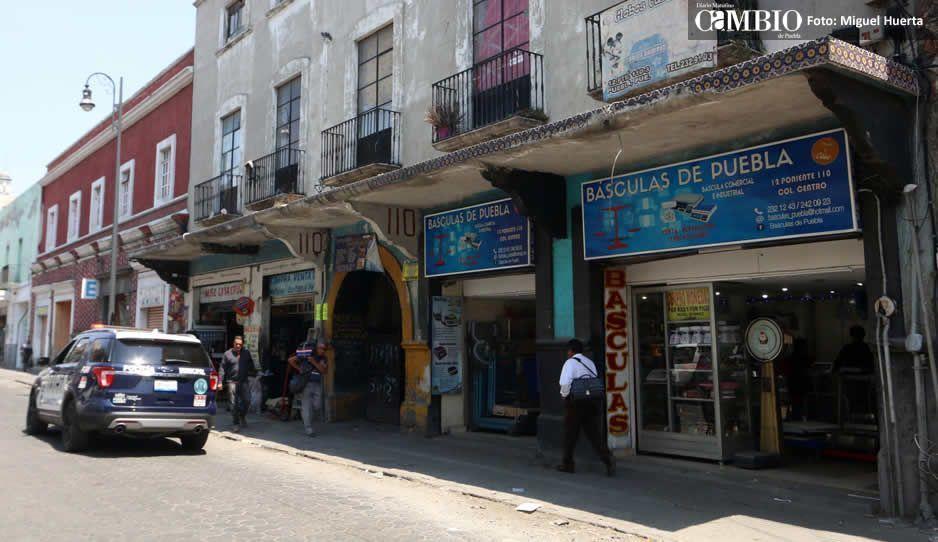 Centro, San Manuel, San Baltazar y La Paz, focos rojos de robo a mipymes