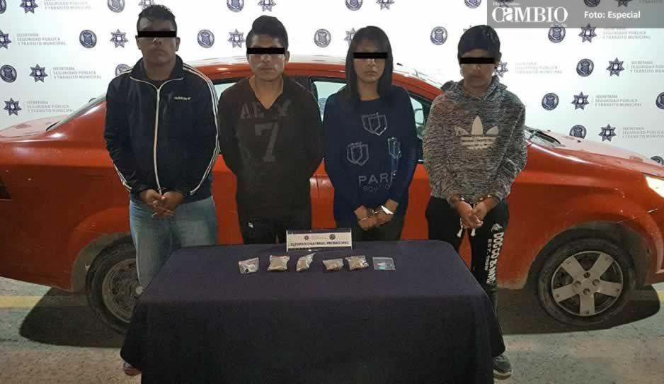 Banda de narcomenudistas capturada el vienes está relacionada con asesinato en Bosques