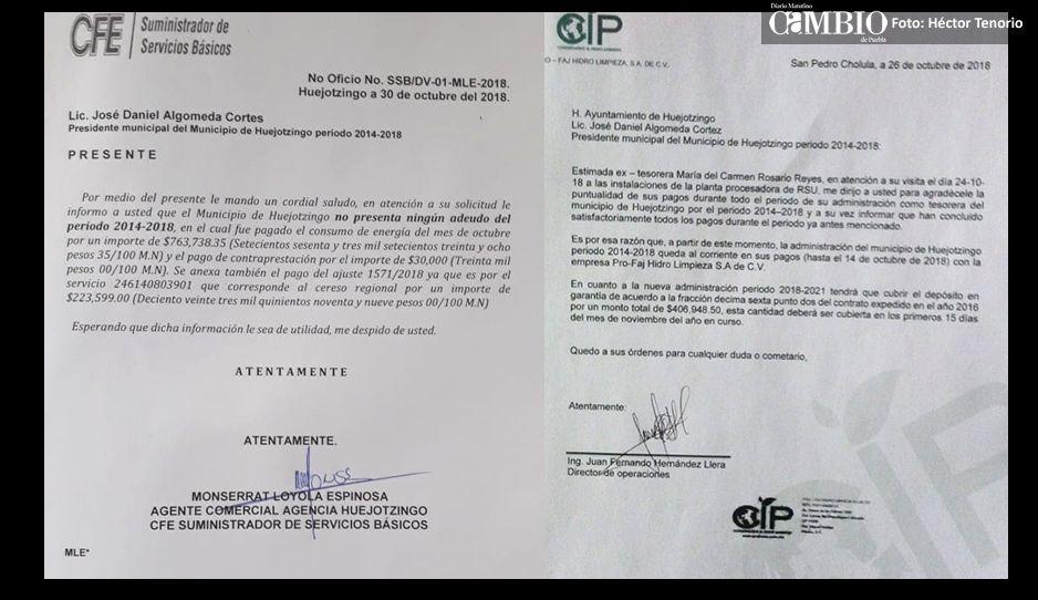 Desmienten a alcaldesa Angélica Alvarado  y niegan deudas heredadas en Huejotzingo