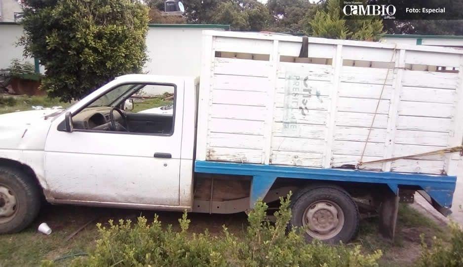 50 huachicoleros tienden emboscada a policías municipales de Tlalancaleca