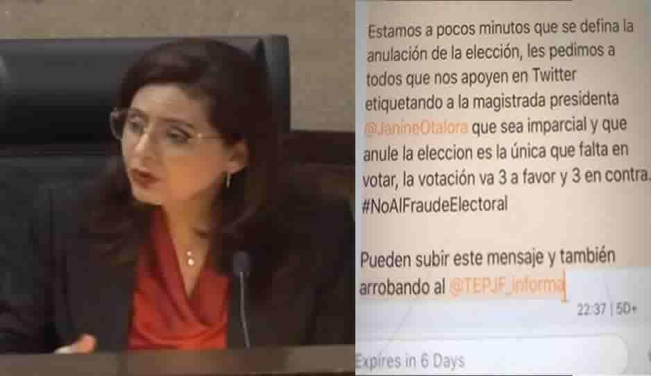 Verborrea de la magistrada Soto gana tiempo para que Morena y simpatizantes de Barbosa presionen a Otálora