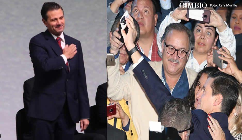 Peña Nieto y Tony Gali inauguran el Foro Global Agroalimentario 2018