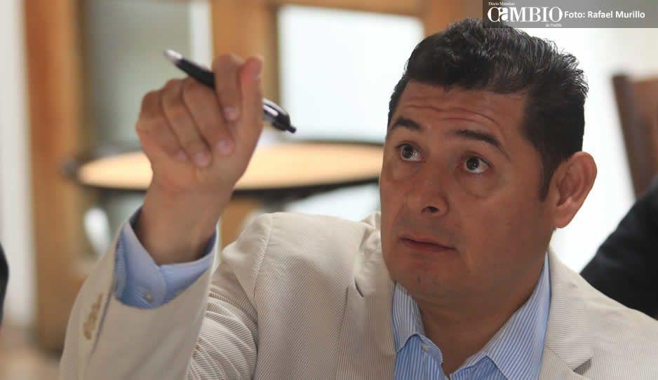 Armenta respalda a Barbosa para que repita candidatura a la gubernatura de Puebla