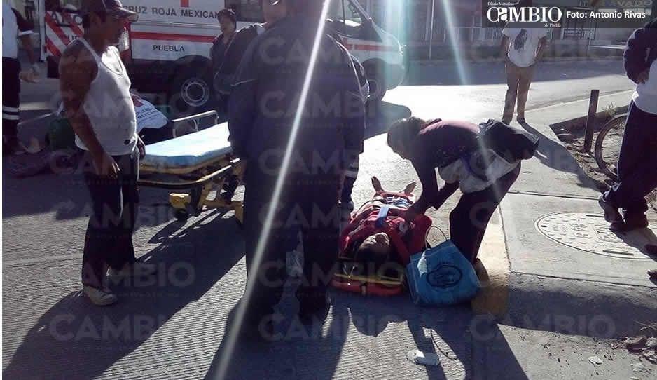Atropellan a dos mujeres en el puente de Xonacatepec