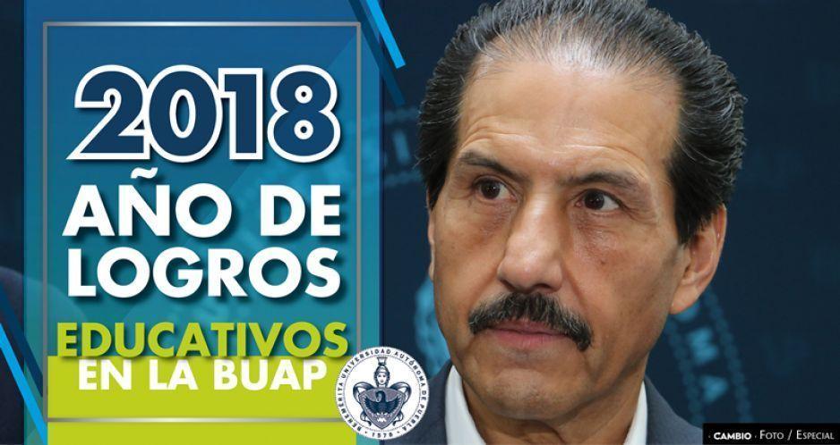 2018, año de logros educativos en la BUAP