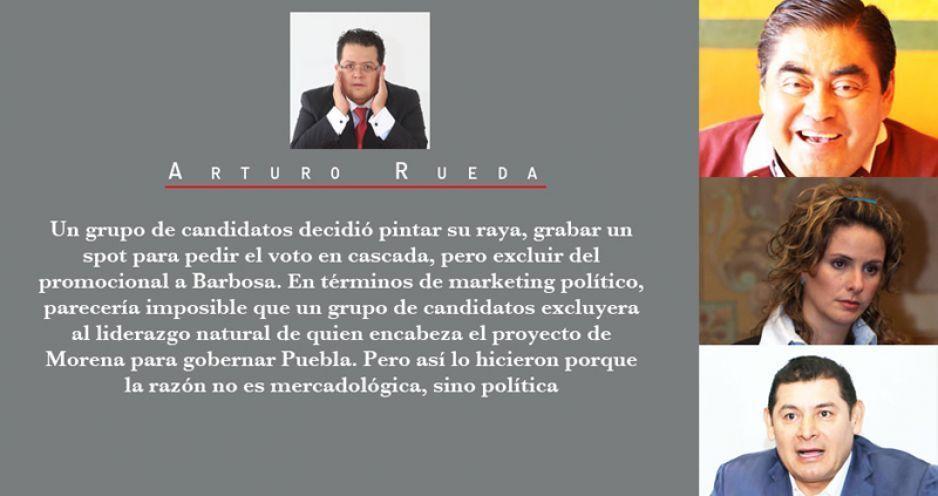 El spot que evidencia la ruptura en Morena Puebla