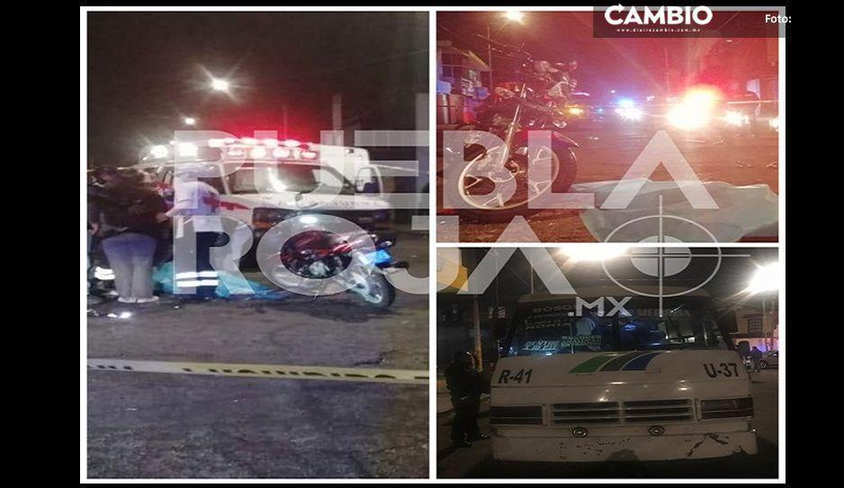 Cafre se pasa el alto y mata a motociclista de Uber Eats en El Vergel