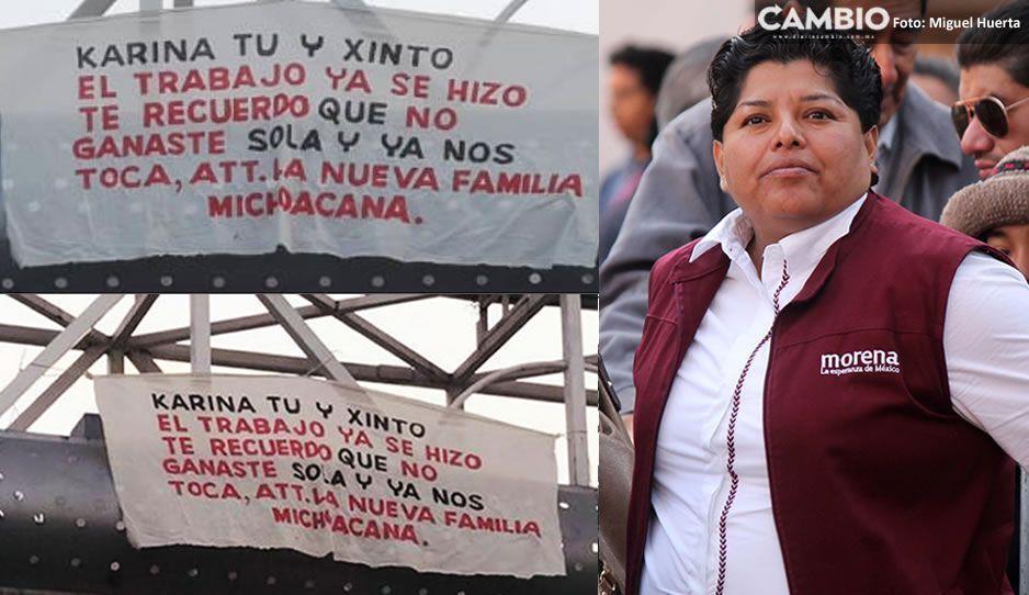 Narcos le dedican manta a alcaldesa de San Andrés: no ganaste sola