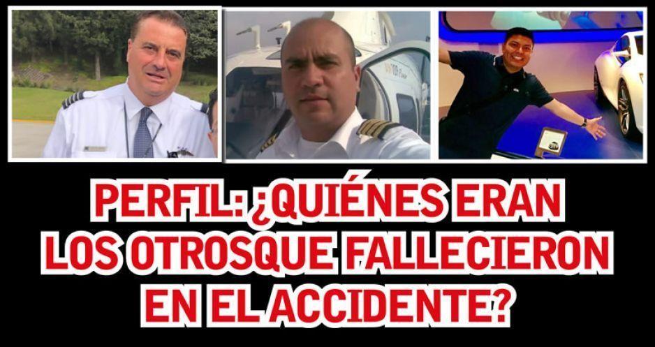 Perfil: ¿Quiénes eran los otros que fallecieron en el accidente?