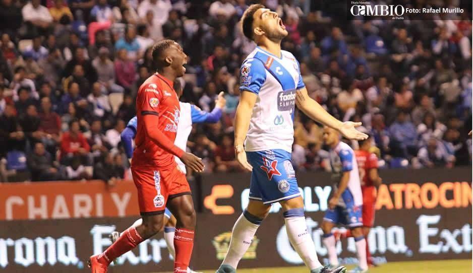 Club Puebla y Lobos BUAP igual en entretenido partido