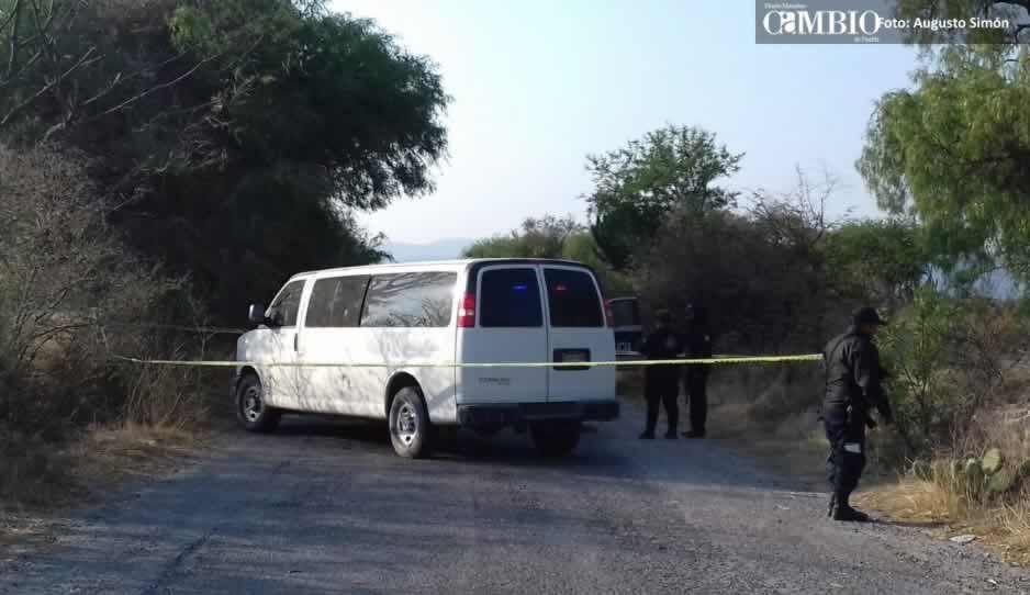 Tras persecución, policías recuperan camioneta repartidora de gas robada en Tochtepec