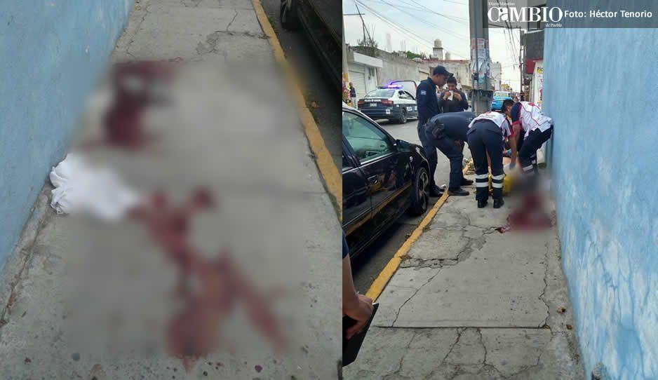 Hombre pierde la vida tras recibir varios impactos de arma de fuego en Texmelucan