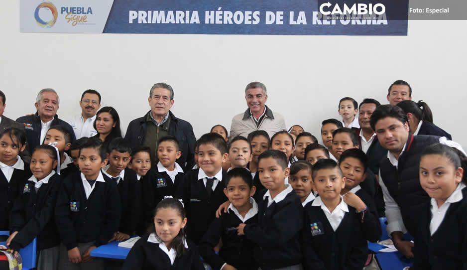 Gali entrega primaria  Héroes de la Reforma