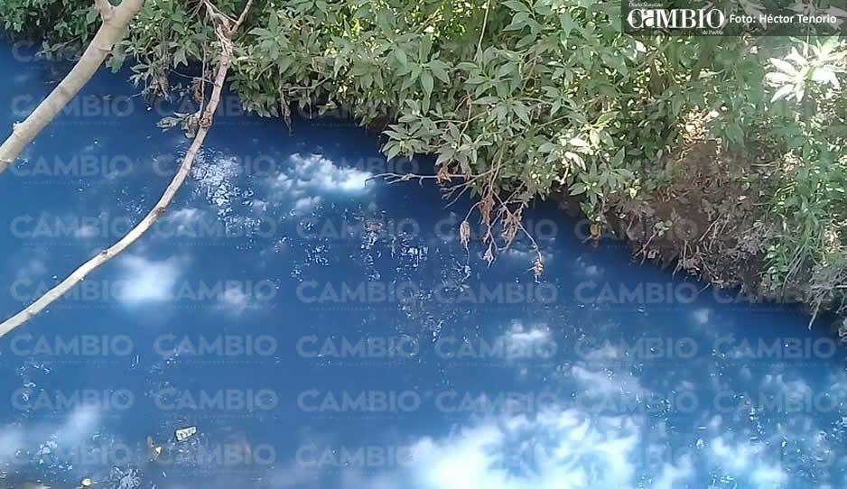 No para la contaminación de los ríos de Texmelucan y Huejotzingo
