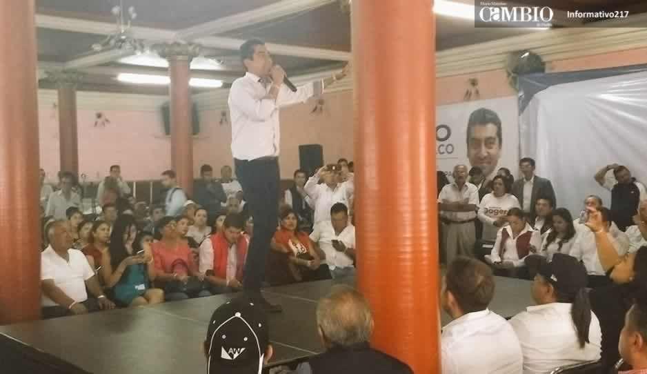Candidatos del PRI en San Pedro Cholula se ponen léperos en inicio de campaña