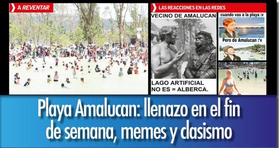 Poblanos dan el Acapulcazo en Parque Amalucan y les llueven memes clasistas