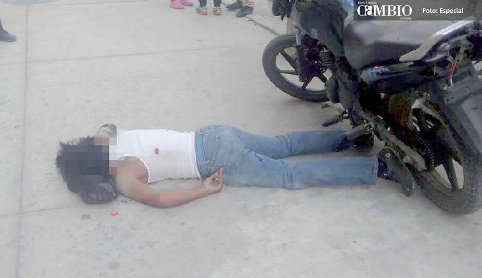Balacera en Texmelucan deja un hombre asesinado y dos heridos