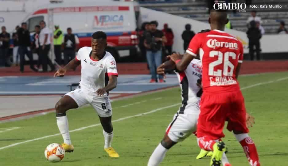 ¡Goool de Yago César! Lobos Buap 2-0 ante Diablos Rojos (FOTOS)