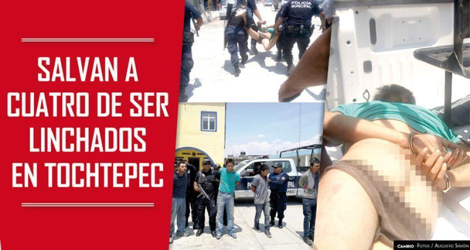 Salvan a cuatro de ser linchados por turba de 500 en Tochtepec