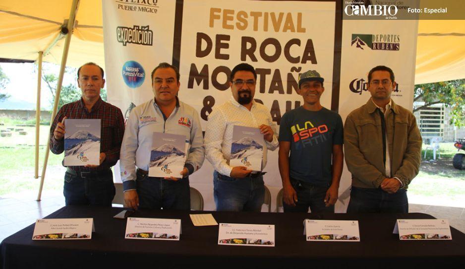 Atlixco prepara Festival  de Roca, Montaña & Trail
