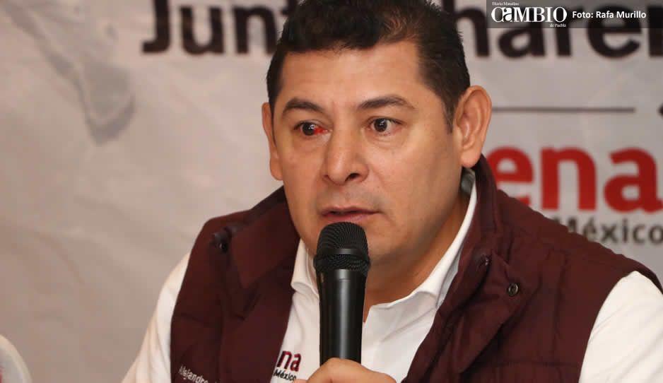 Armenta presumen que ex priistas de Tehuacán se sumaron a Morena