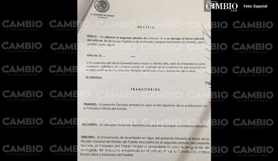 Morena quiere violar el principio de irretroactividad de las leyes para tumbar a Higuera Bernal