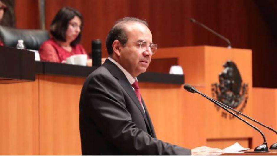 Delitos de César Duarte son no graves: Navarrete Prida