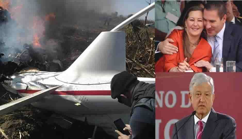 AMLO no dice las causas del helicopterazo: solo hacen un resumen de la recopilación de las partes de la aeronave (VIDEO)