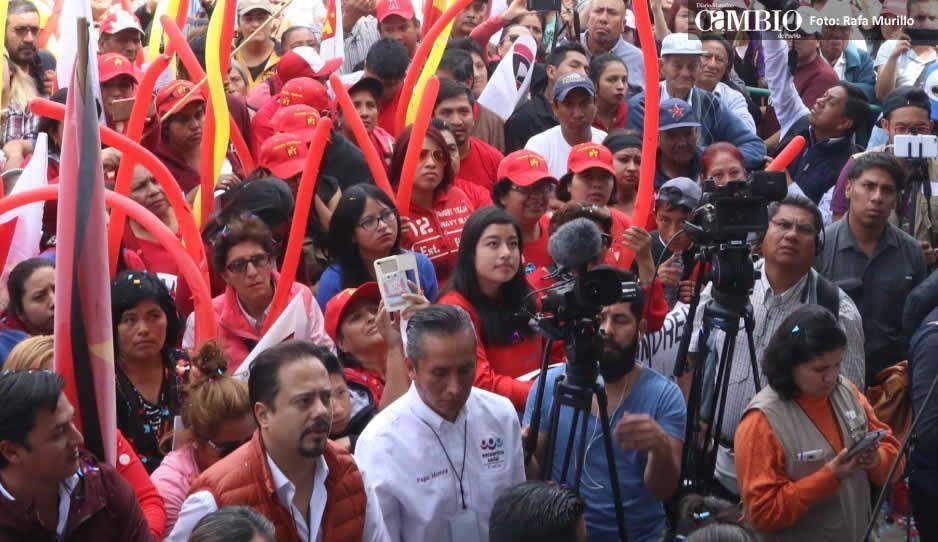 Atracan a equipo de prensa de Morena en Santa Rita Tlahuapan