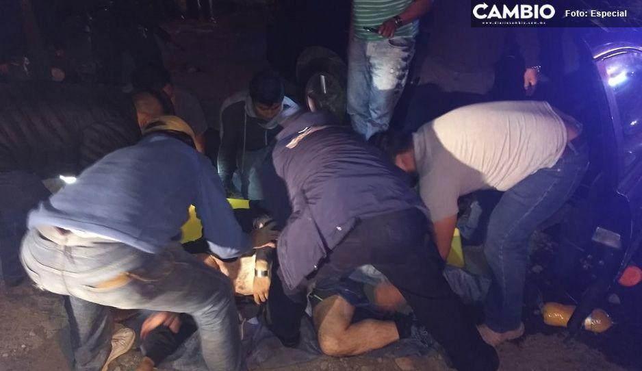 Un menor sin vida y 6 lesionados deja choque en la Federal México-Puebla