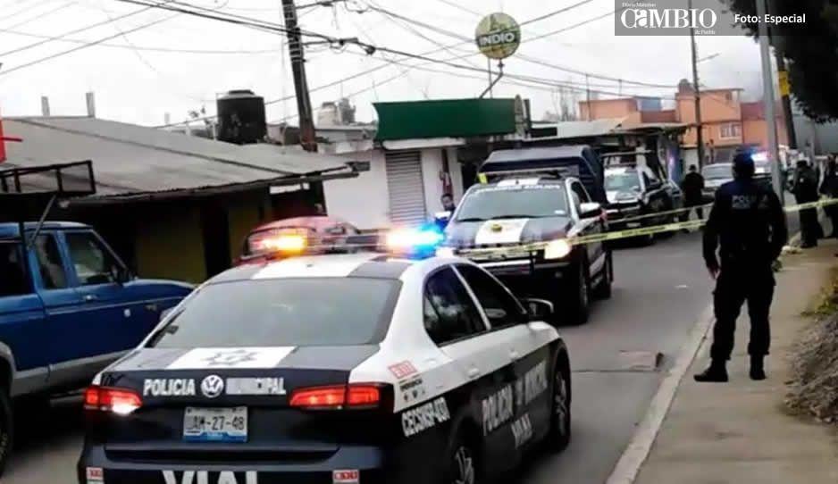 Un detenido, dejó una balacera en Teziutlán; Los ladrones se sintieron descubiertos y comenzaron a disparar