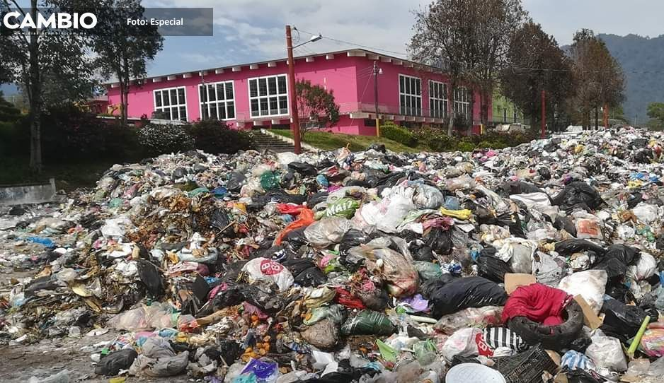 Edil Gustavo Vargas mantiene  a Huauchinango entre la basura
