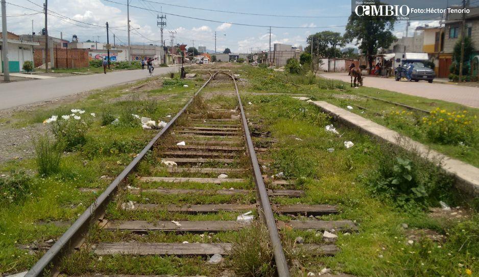 Ferrosur pide garantías para el  tránsito ferroviario de Moyotzingo