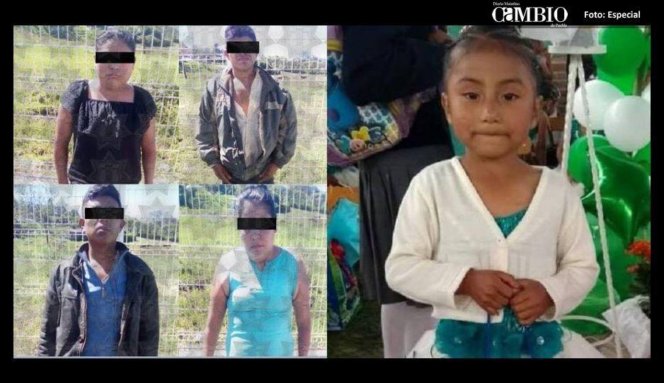 Confirmado, la niña Flor Itzel, fue asesinada de un balazo en la cabeza