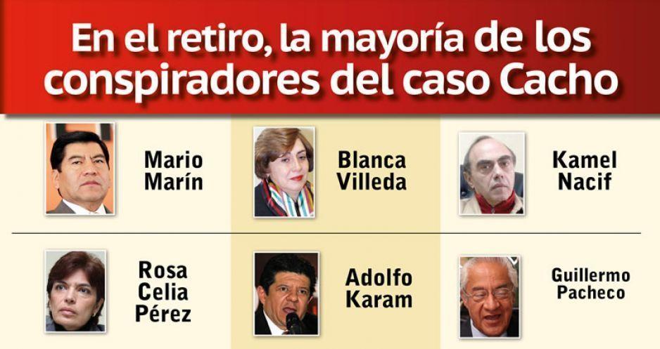 En el retiro, la mayoría de los conspiradores del caso Cacho