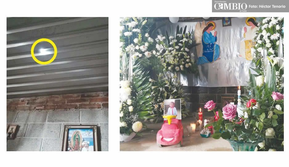 Fallece menor herido por bala perdida en Huejotzingo