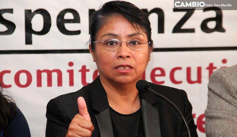 Socorro Quezada hace oficial su adhesión a Morena en apoyo Barbosa ante la posible anulación de elección