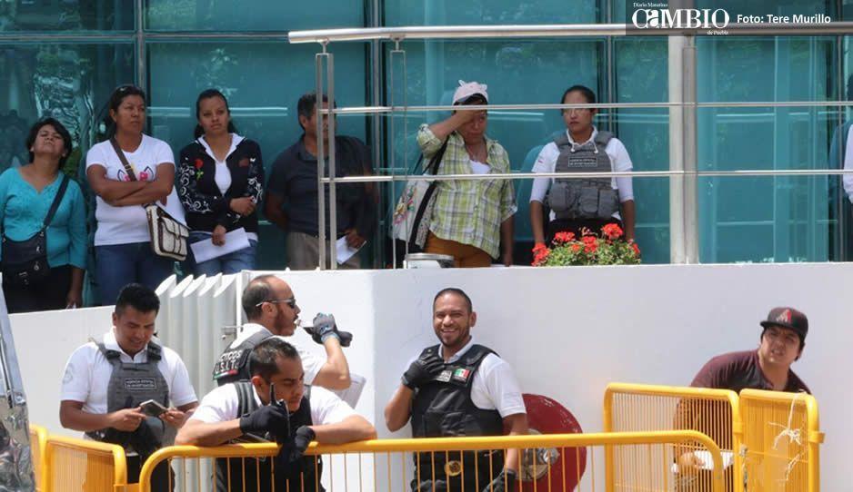 Rafa Nuñez ha sido el más rata: familiares de polis cachirules pagarán fianza de 5 mil pesos