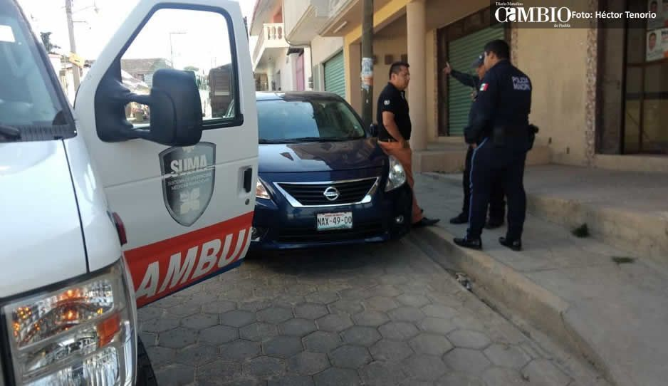 Candidato del PAN en Tlahuapan detenido por agarrar a huevazos a su esposa, luego lo sueltan