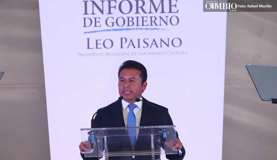 Destaca Leo Paisano finanzas sanas durante su 4to Informe