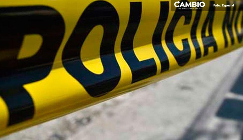 Encuentran cadáver con disparo en el pecho en la carretera de Tilapa