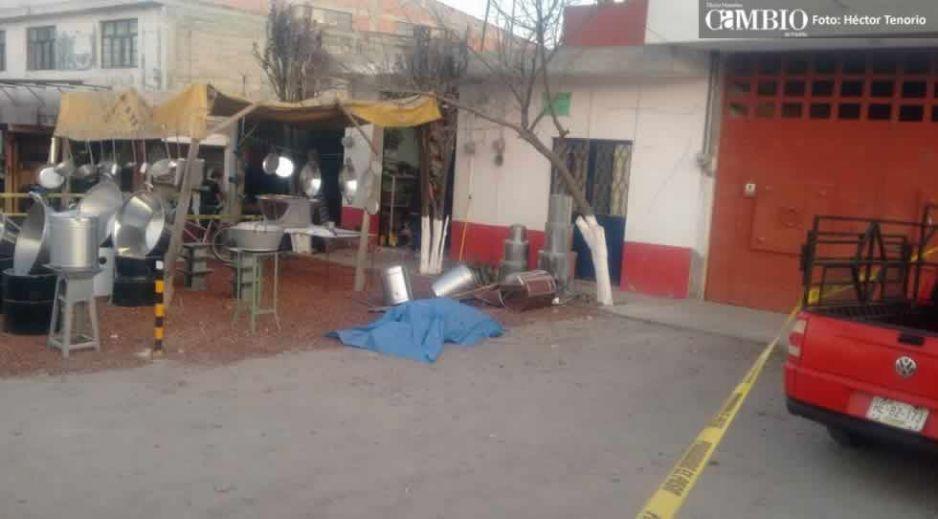 Ejecutan a otro sujeto en Texmelucan, recibió ocho disparos